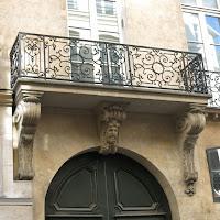 Balcon du 29 rue Danielle-Casanova à Paris