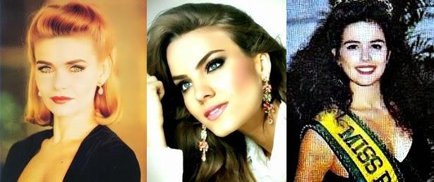 Misses Universo Brasil 1987, 1988 e 1989