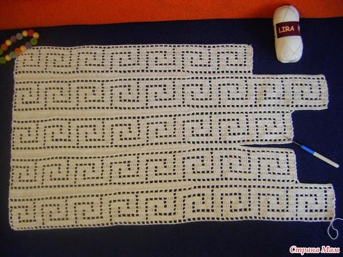 Греческие узоры для вязания 85