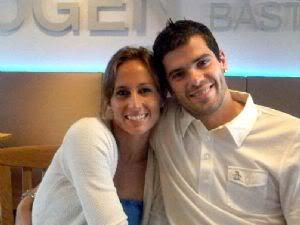 Gisela Dulko with Husband