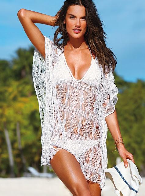 Alessandra+Ambrosio+VS+Swimwear+2012-2