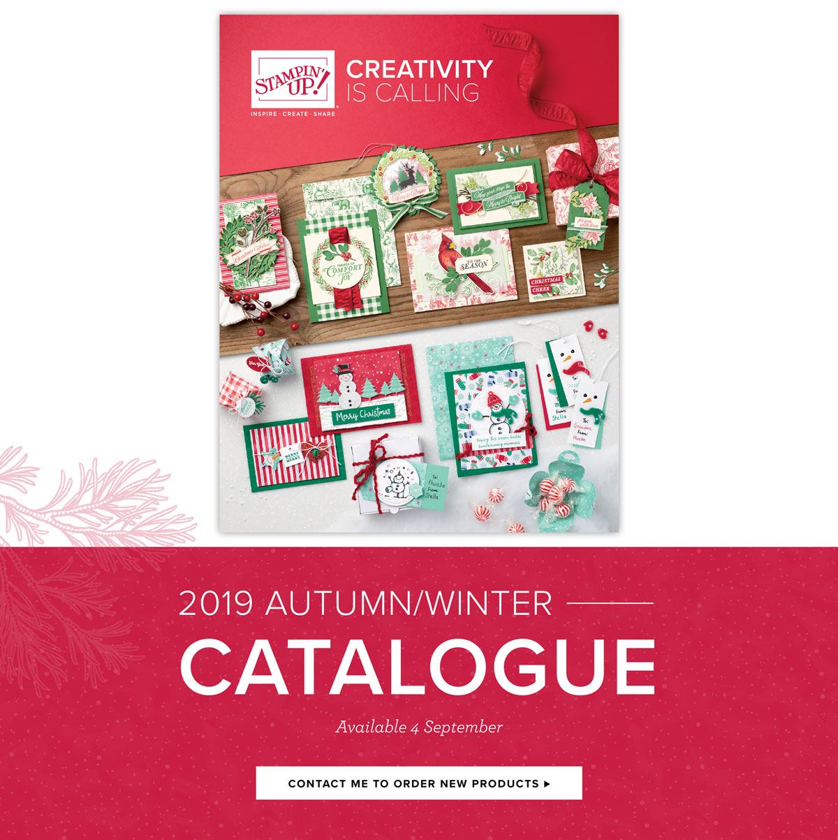 Stampin' Up! Autumn/Winter seasonal catalogue