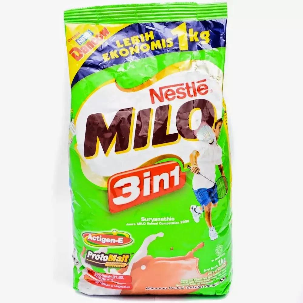 Milo Activ Go Minuman Susu 33 G21 Sachet Daftar Harga Terlengkap 18g 10sachet Gratis 1sachet Sabtu 13 Desember 2014