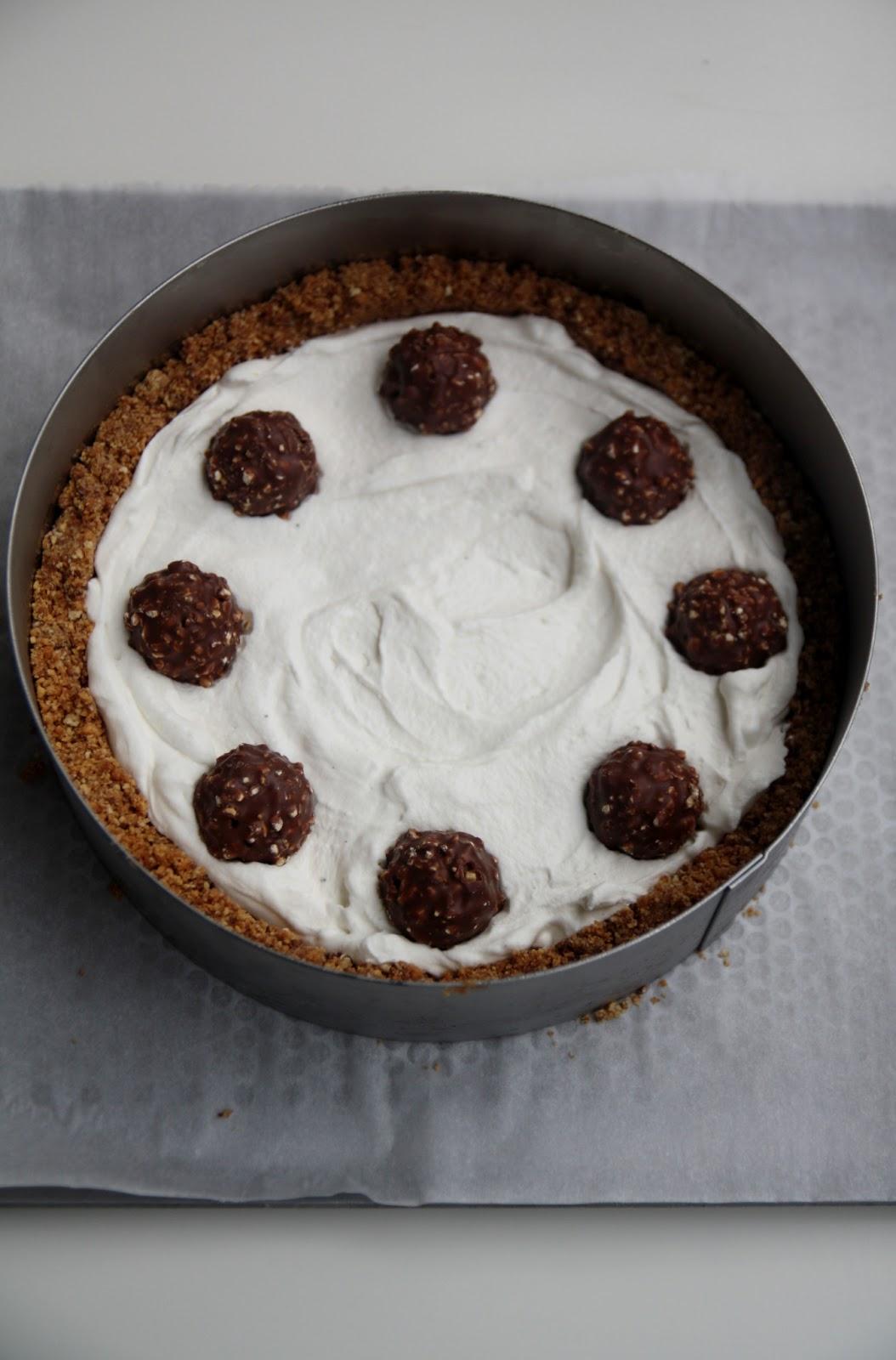 Eccezionale Cheesecake al mascarpone e Ferrero Rocher NM39