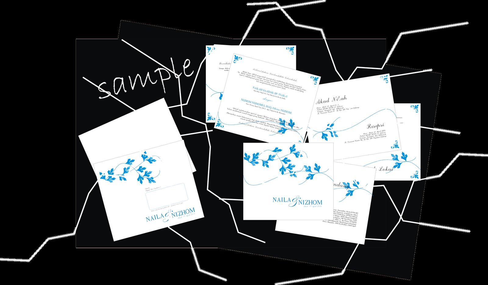 sample undangan pernikahan