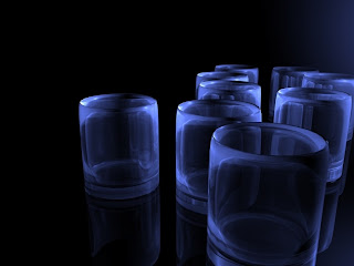 3D Glass Wallpapers
