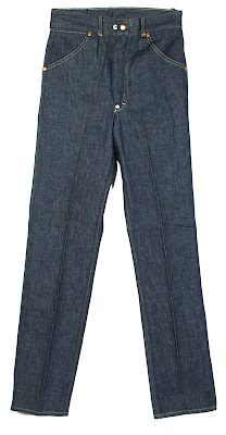 1940s-50s Vintage jeans with crotch rivet