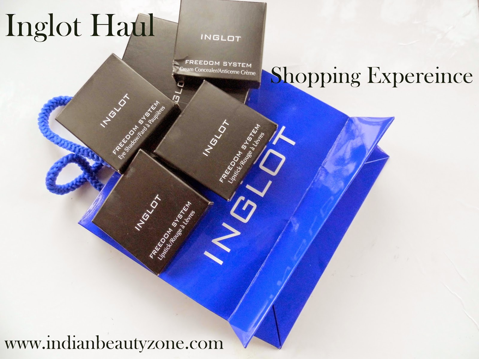 Inglot makeup products