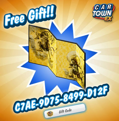 Car Town EX Gift Code Updated 2013
