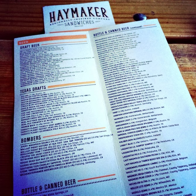 The Holland House: Haymaker Austin