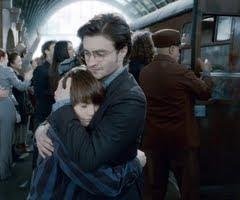 Harry Potter e seu filho Alvo Severo