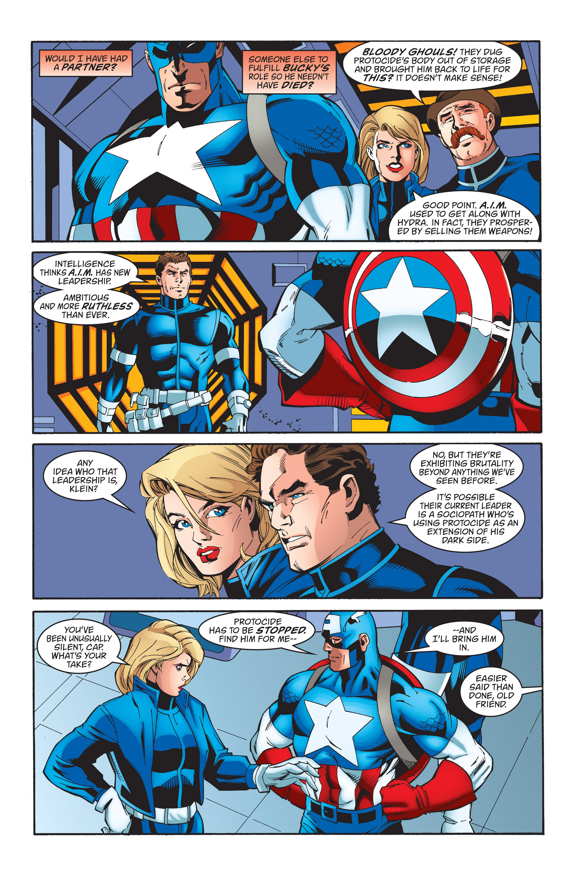 Captain America (1998) Issue #37 #44 - English 6