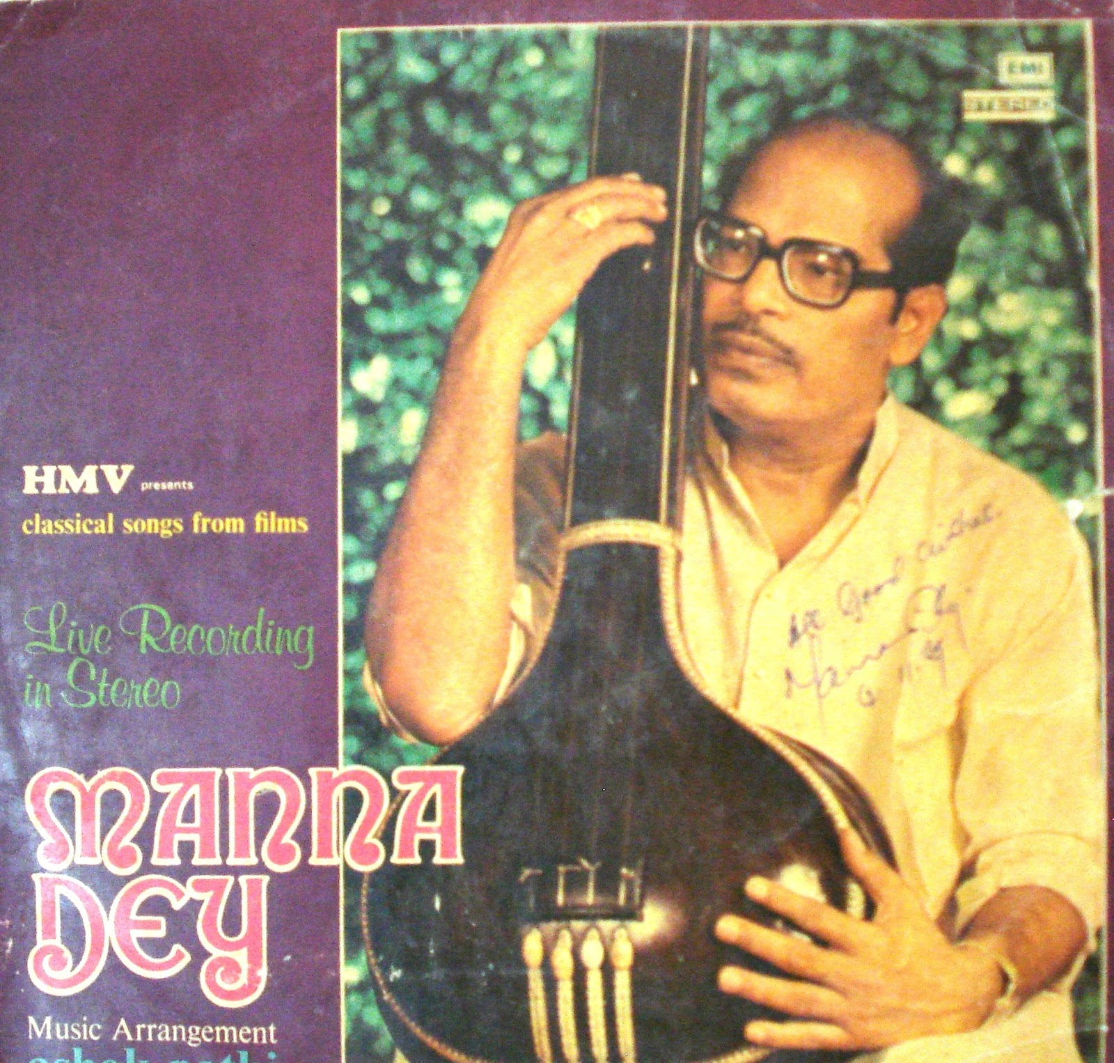 Classical hindi songs of manna dey