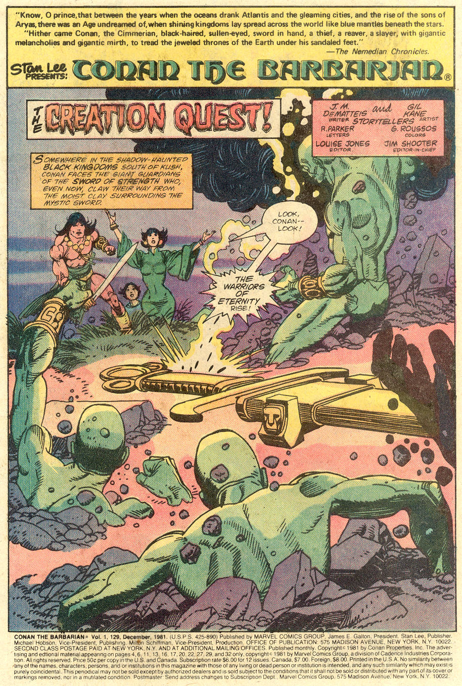 Conan the Barbarian (1970) Issue #129 #141 - English 2