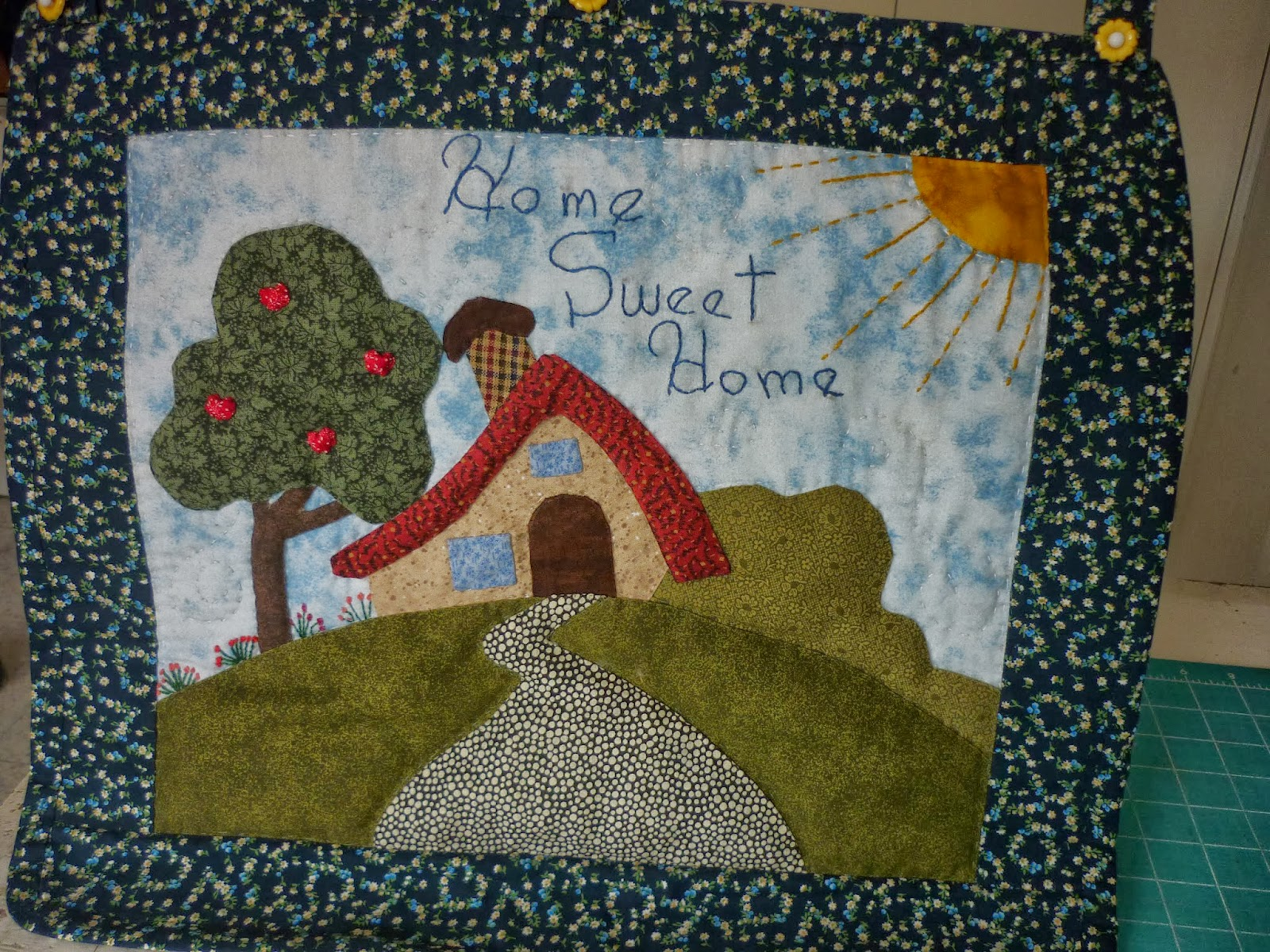 Casita del patchwork casita home sweet home - La casita del patchwork ...