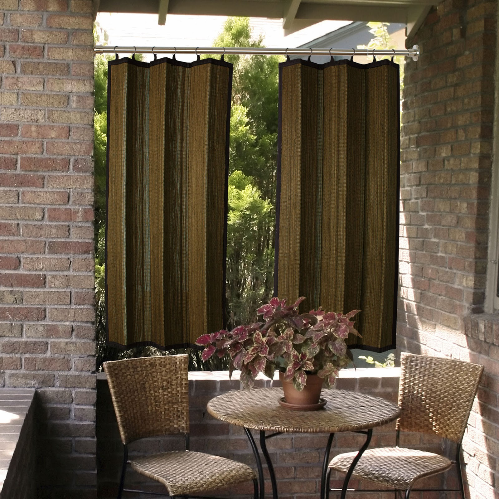 Bamboo Curtains For Doors Bamboo Fencing for Outdoors