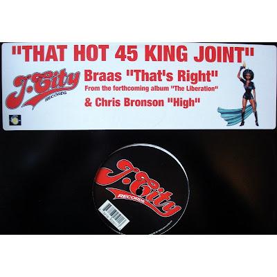45 King & Bras & Chris Bronson – That Hot 45 King Joint (2002, 192) VLS