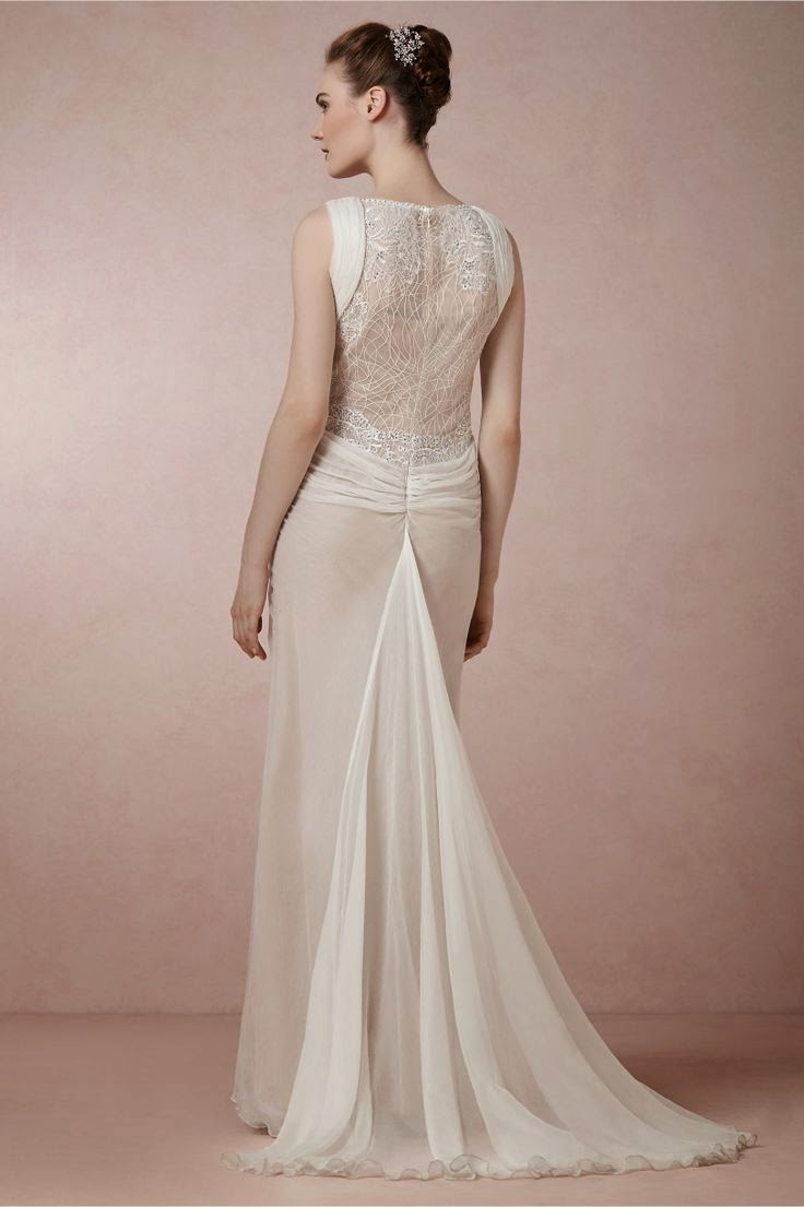 BHLDN Leyna Gown: Affordable Wedding Dresses - 1930s