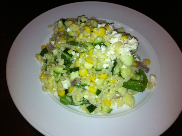 Everday Food Corn and Zucchini Orzo Salad | Foodie in WV