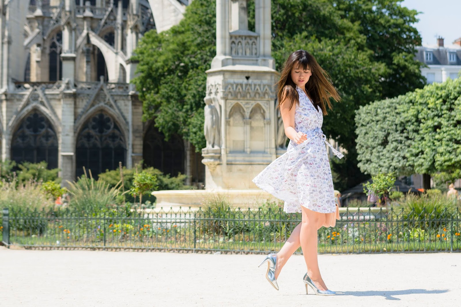 Paris blogger, Streetstyle, 50's Style, Look, Summer style