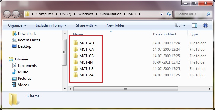how to search only hidden files in windows 7
