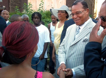 > Jul 19 - Farrakhan, Nation of Islam, step in to help stop Chicago shootings - Photo posted in BX Daily Bugle - news and headlines | Sign in and leave a comment below!