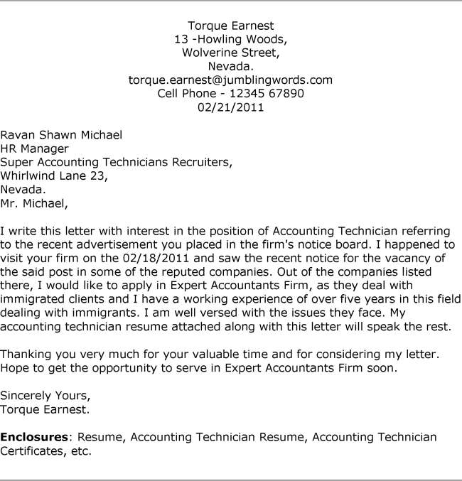 Application Letter Sample For Accounting Position Fresh Graduate