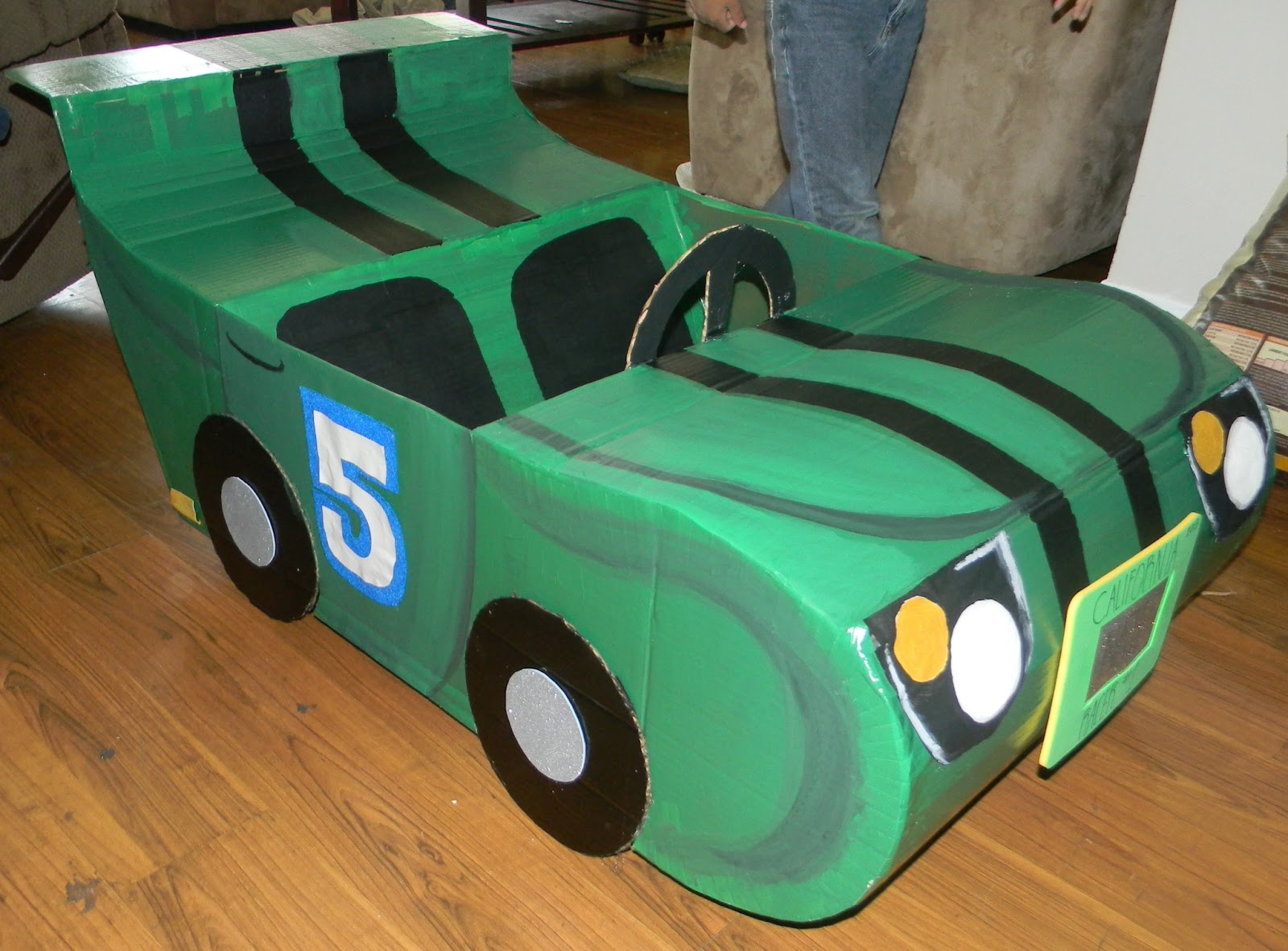 Word Of Mouth Lend Me Your Ear Craft Diy Cardboard Race Car