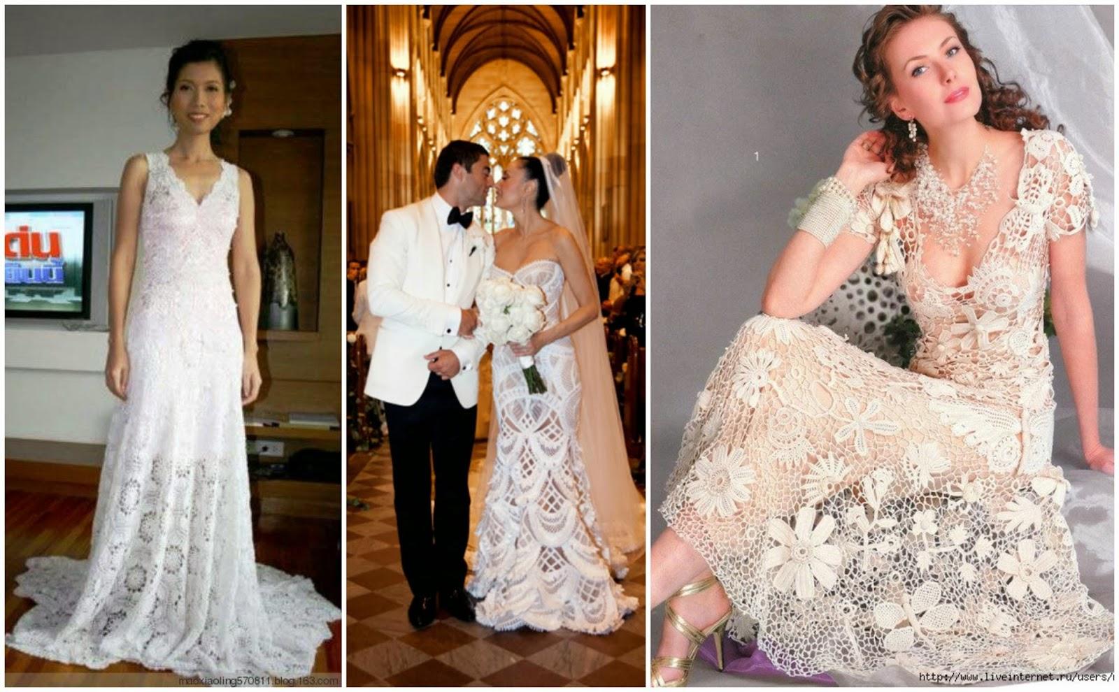 Tsukeeno\'s: Bodas al crochet: vestidos de novia