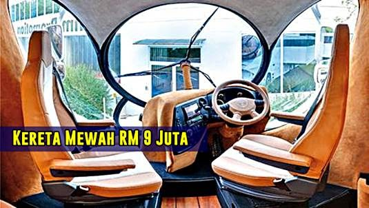 Kereta Mewah Konsep Rumah Berharga RM9 Juta Mula Laris Terjual