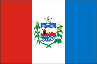 bandeira de alagoas para colorir