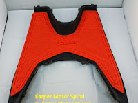 Pilihan Harga Karpet Spiral Motor Matic, Beat, Mio, Spin, Vario dan Xeon