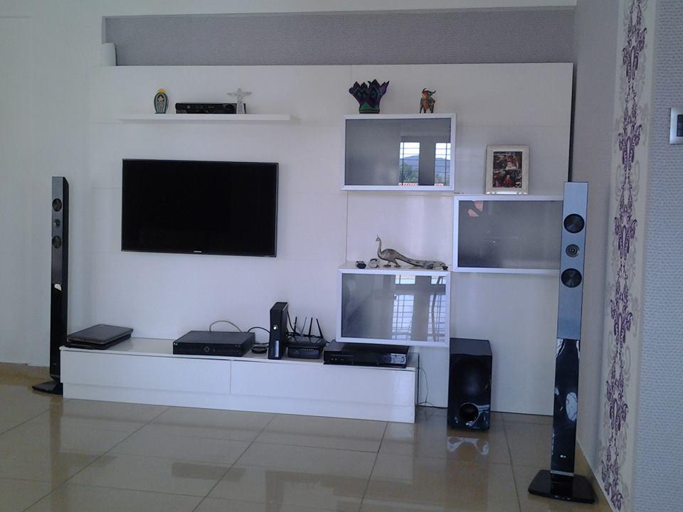 Fabricaci n y dise o de centros de entretenimiento for Muebles modulares modernos