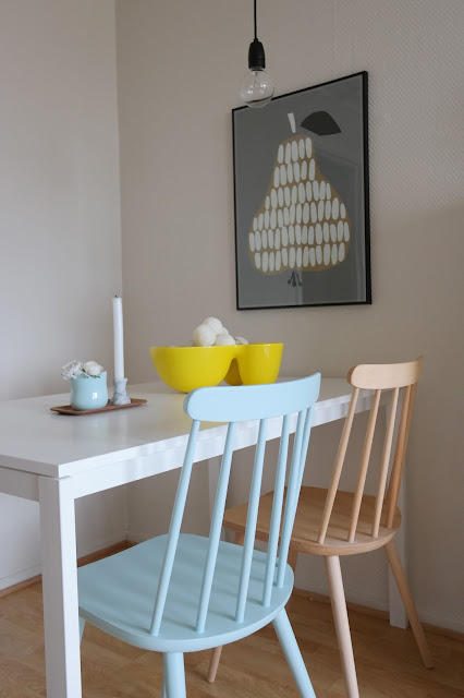 Wooden chair makeover