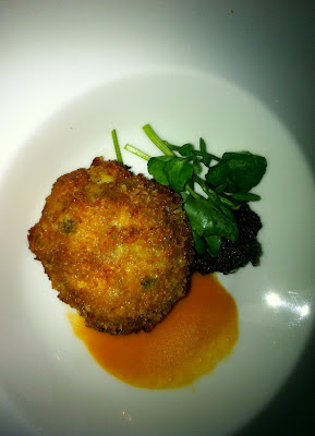 Cornish crab cake