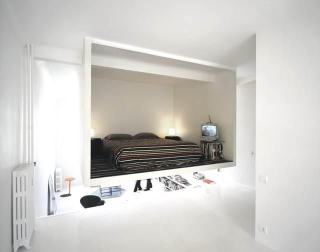 bilik tidur tergantung