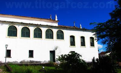 Fundos do museu de Arte Sacra de São Cristóvão desde o convento de Santa Cruz