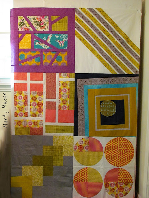 Big Modern Quilt blocks - Marty Mason