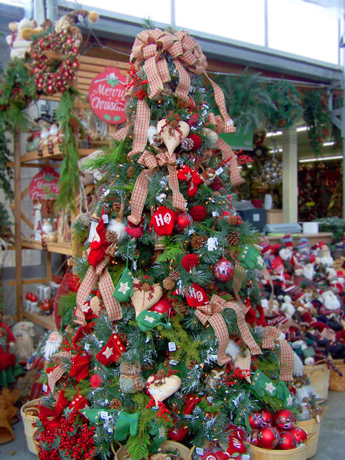 Inspire others get inspire christmas tree decor for How to decorate a country christmas tree