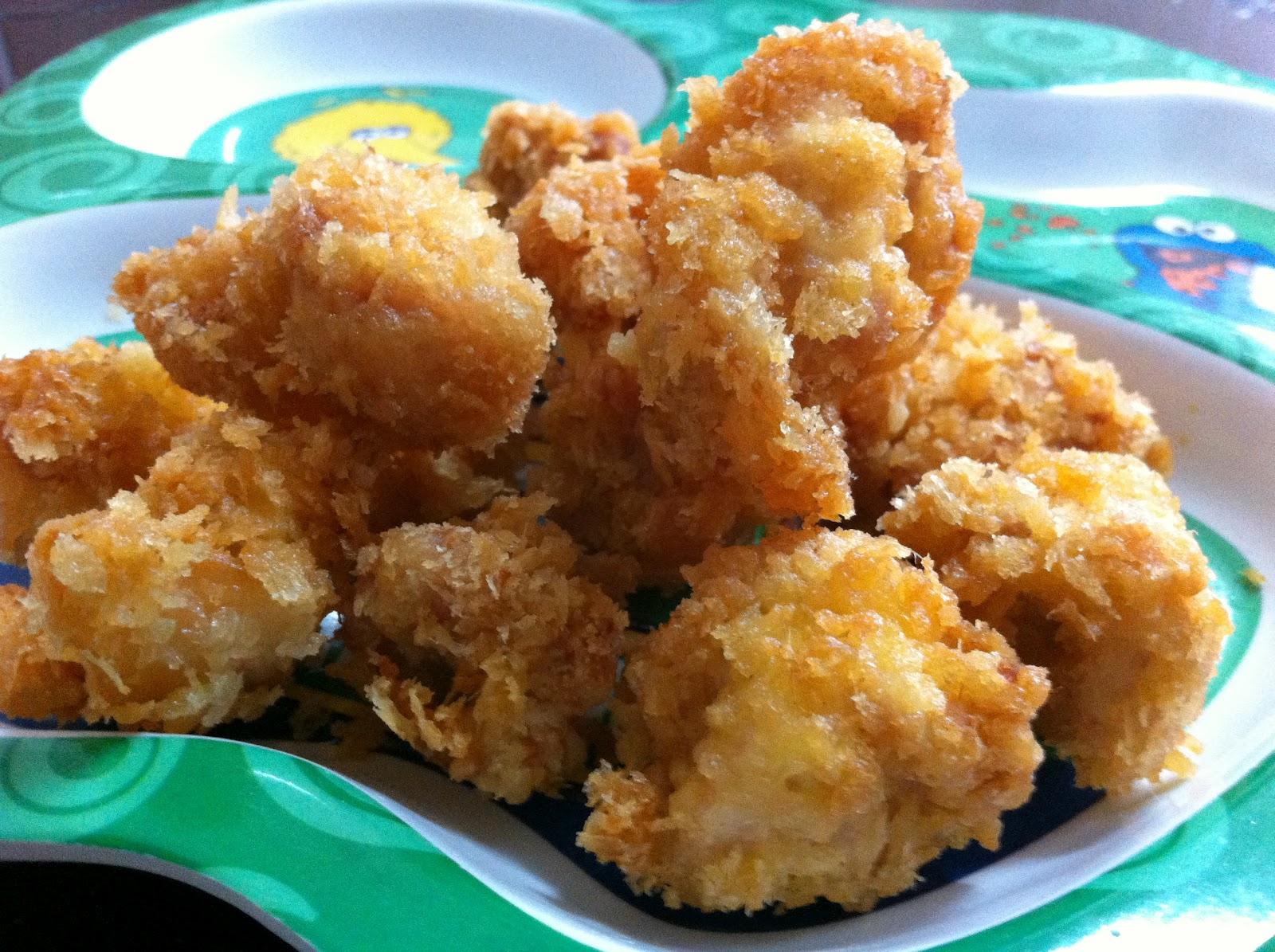 Popcorn Chicken Kids Style : Pop+Corn+Chicken Confessions of a Weekend Cook: Popcorn Chicken