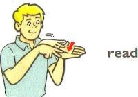 sign language read, ASL
