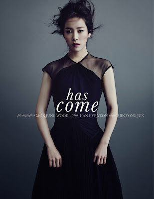 Han Ji Min - Elle January 2014