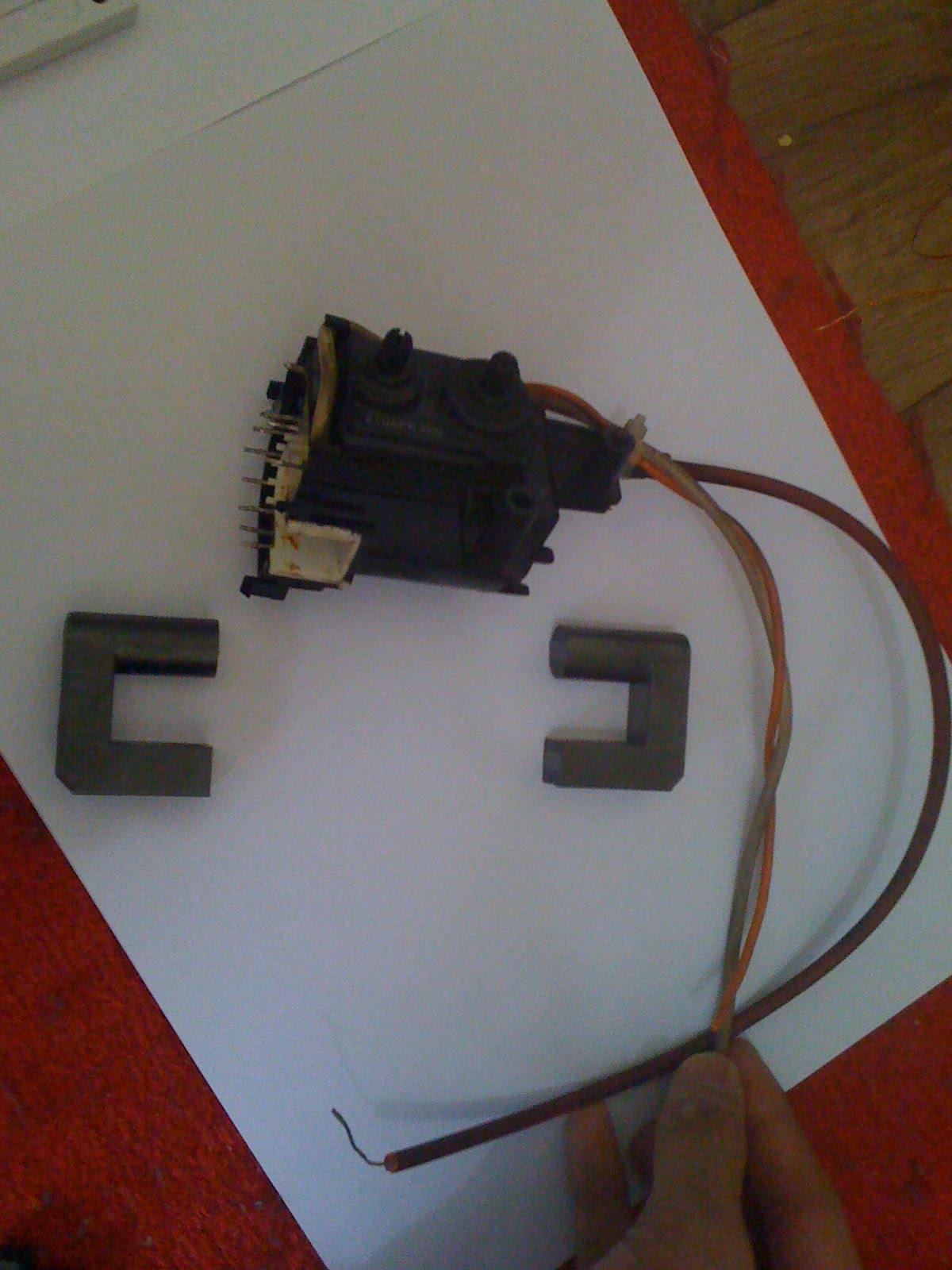 how to make a homemade high voltage transformer