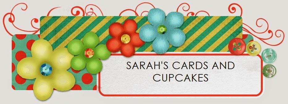 Sarah's cards and cupcakes