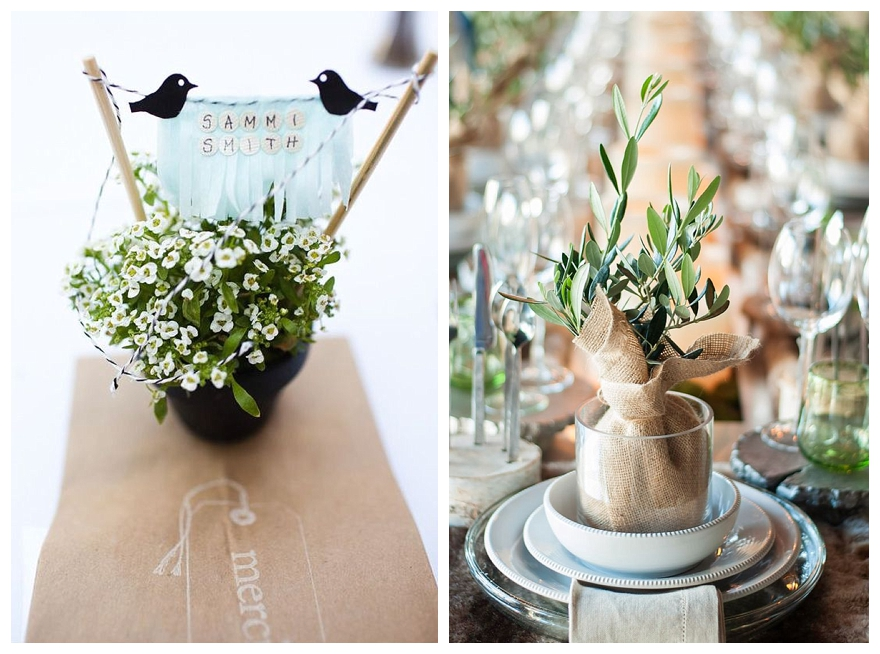 plant pot wedding favours diy wedding ideas beforethebigday wedding