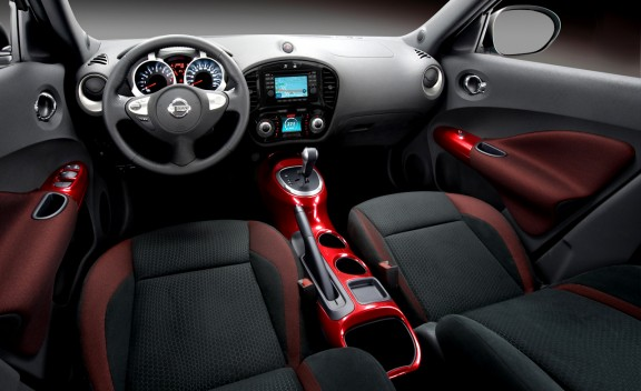 Interior of 2011 Nissan Juke
