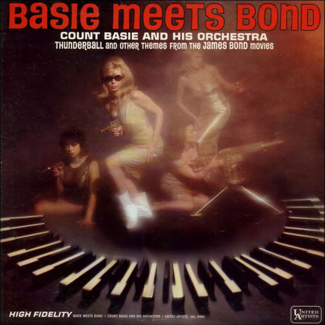 What's Taraji P. Henson doing on the cover of Basie Meets Bond?