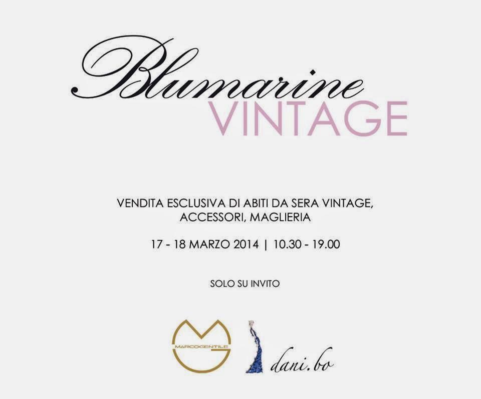 blumarine, blumarine vintage, svendita, sconti, shopping, prezzi, marco gentile