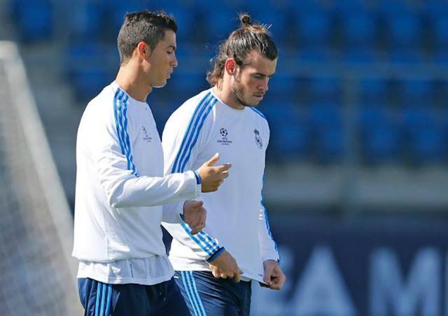 Autor de cinco gols contra o Espanyol, Cristiano Ronaldo terá a companhia de Bale (foto: Real Madrid/divulgação)