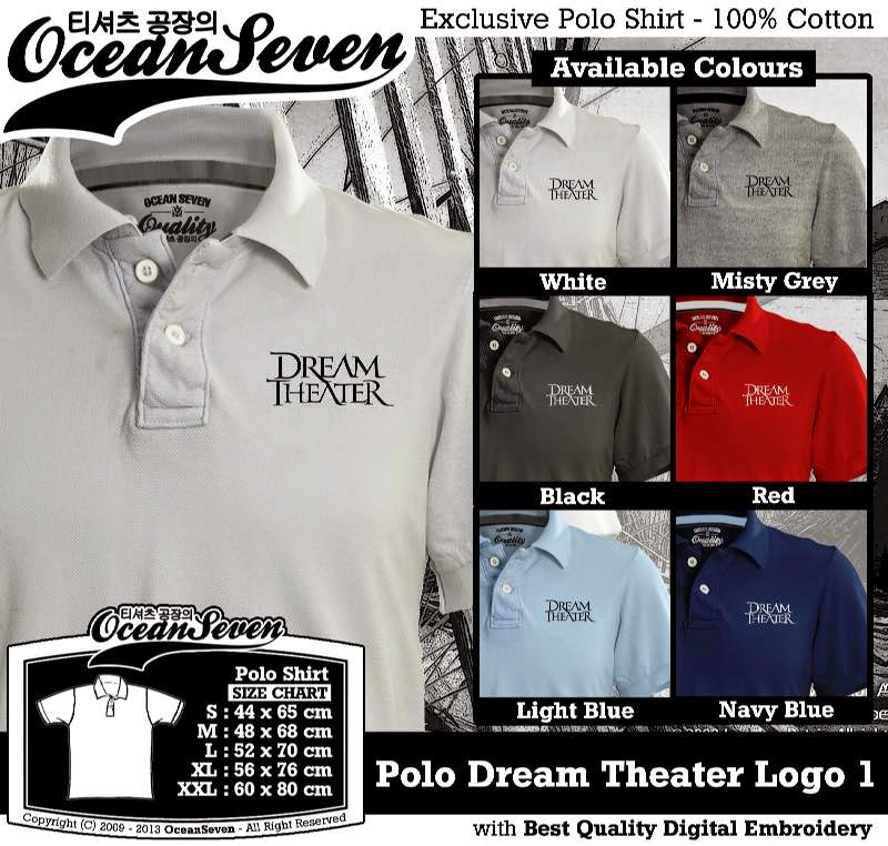 Kaos Polo Dream Theater Logo 1